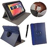 Tablet Tasche für Lenovo Tab10 TB-X103F Schutz Hülle Etui Case + Touch Pen – Blau 10.1 Zoll 360?
