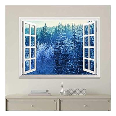 Wallpaper Large Wall Mural Series ( Blue Snowed...