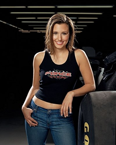 Ashley Force Hood/Funny Car Drag Racer 8 x 10 GLOSSY Photo Picture IMAGE - Hood Ashley Force
