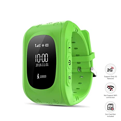 Amazon.com: Kid Smart Watch, Wonbo Soft Silicone GPS Tracker ...