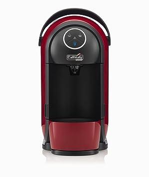 Máquina Café Caffitaly Clio S21 roja y negra