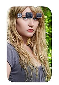 Forever Collectibles Blondes Women Jungle Blue Eyes Claire Lost Tv Series Celebrity Emilie De Ravin Hard Snap-on Galaxy S3 Case