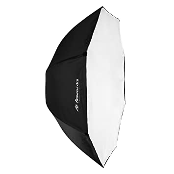 "Powerextra Profesional 47""/120cm Portátil Softbox Octagon Paragua Softbox Reflector Studio Flash Octagonal Speedlite"