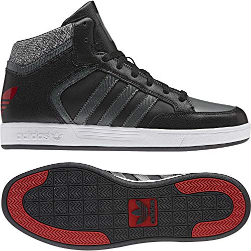 000 Para Adidas Varial Negro grpudg Originals Zapatillas negbas De Mid Hombre escarl Skateboarding nZ4x47SqTp