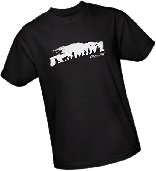 """Lord Of The Rings Trilogy /""""The Fellowship/"""" Women/'s Adult /& Girl/'s Junior Tee"""