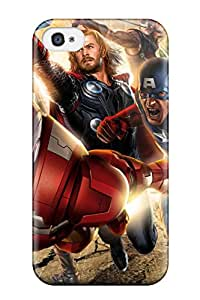 Iphone 4/4s Case Slim Ultra Fit The Avengers 62 Protective Case Cover