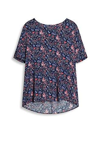 ESPRIT 037ee1f031, Blusa para Mujer Multicolor (Navy)