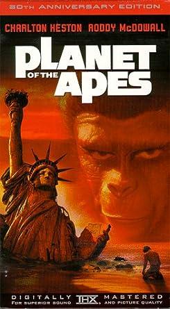 Amazon com: Planet of the Apes [VHS]: Charlton Heston, Roddy