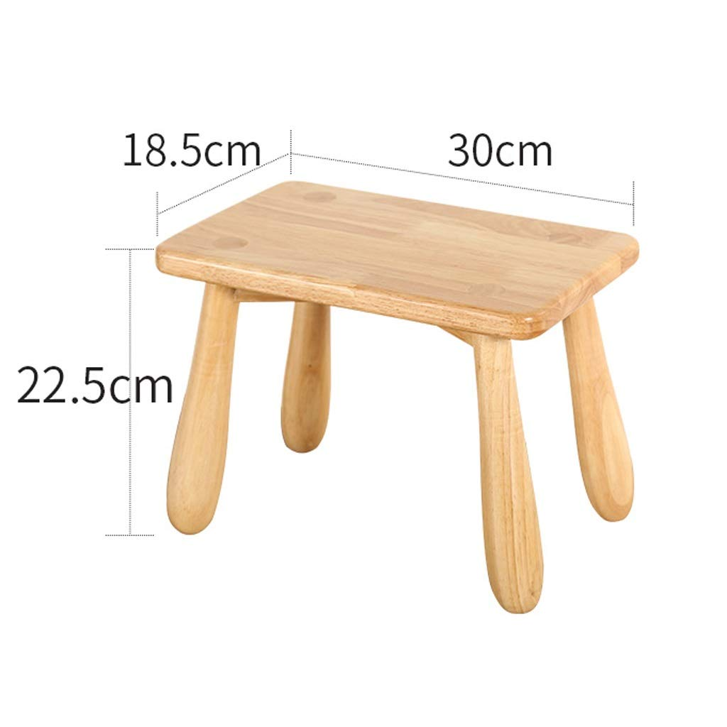Pleasing Amazon Com Gaoxingshop Ottomans Footstools Wood Color Solid Ibusinesslaw Wood Chair Design Ideas Ibusinesslaworg