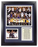 Legends Never Die NCAA UCONN Basketball Greats Double Matted Photo Frame, 12' x 15'