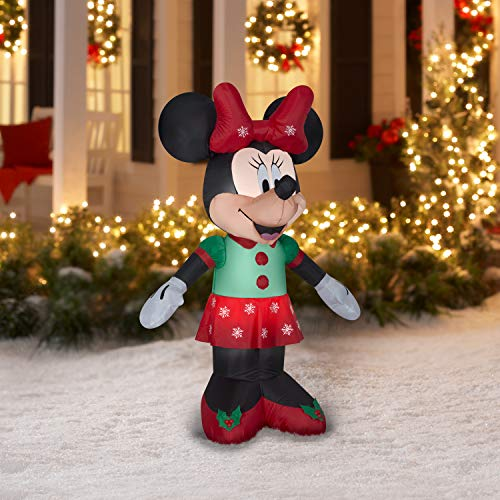Yardds Mickey Minnie Mouse Disney Christmas Outdoor Inflatables - 3.5Ft Tall Decorations