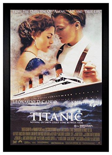 Titanic Leonardo Dicaprio 24x36 Framed Movie Poster