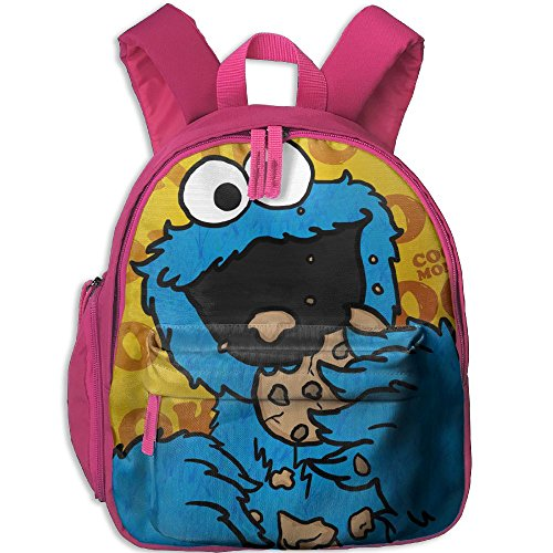 Baby Child HD-Cookie-monster Pre School Travel Camping Backpack