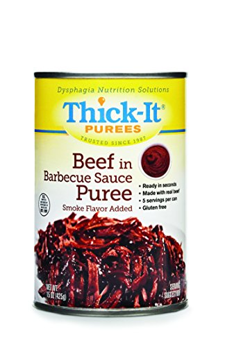 Thick-It Puree Food, Beef with Barbecue Sauce, 15 Ounce (Best Bbq In Katy)