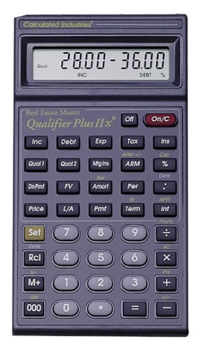 Calculated Industries 3125 Qualifier Plus Iix