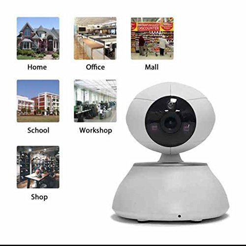 Sicherheits ip kamera Alarmanlagen Heim Security Bilder Realistische ,Stimme Gegensprechanlage,Dual HD ip kamera Alarmanlagen für ihr Sicherheit zu Hause Video Haustier,Wohnung Home Security Überwachung (Colour1)