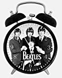 The Beatles Alarm Desk Clock 3.75'' Home or Office Decor E174 Nice For Gift