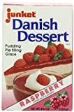 Junket Danish Dessert Raspberry, 4.75-Ounce (Pack of 12)