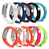 Fitbit Alta Bands Best Deals - BillionPair Fitbit Alta Bands, Replacement Band, 25 Colors Available, with Metal Clasp and Ultathin Fastener, Large and Small Size for Men and Women (No Tracker)
