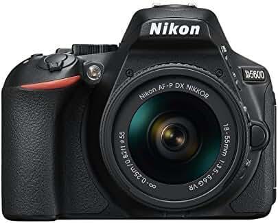 D5600 DX-format Digital SLR w/ AF-P DX NIKKOR 18-55mm f/3.5-5.6G VR