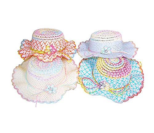 - Cutie Collections Girls Tea Party Hat Mix (4 pc)