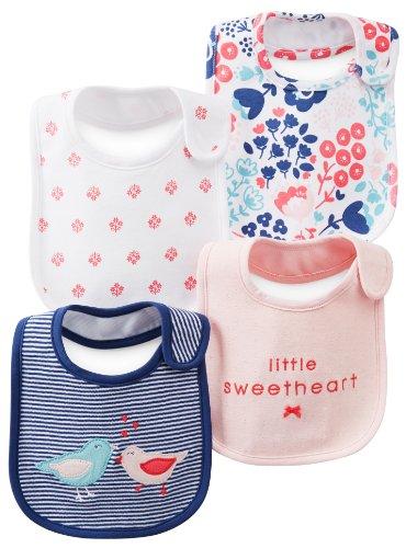 Carters Bibs Pink Little Sweetheart