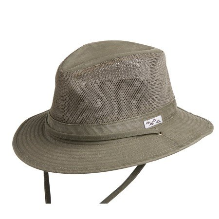 Conner Hats Men's Carolina Outdoor Summer Mesh Hat, Loden, M from Conner Hats