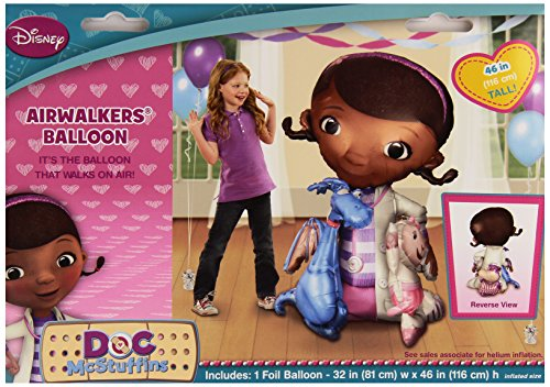 Doc Mcstuffins Air Walker Balloon Girls Birthday Party Decoration - 52'' Foil]()