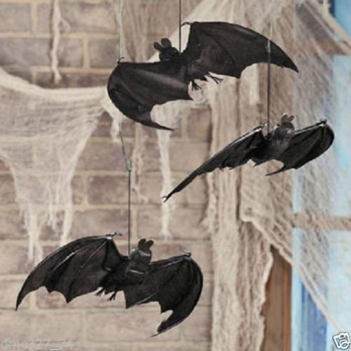 [HALLOWEEN Decorations Prop Spooky Fabric HANGING BATS] (Homemade Pirate Ship Costumes)