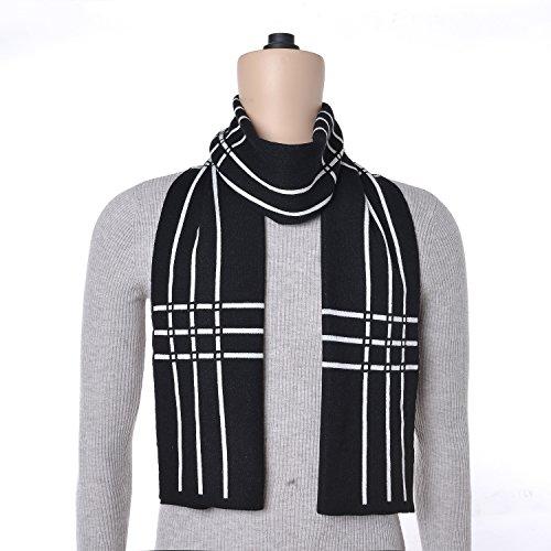 VRLEGEND Winter Fashion Scarf Men Long Scarves Cozy Warm Elegant Cashmere Feel Scarf