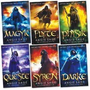 Septimus Heap Collection 6 Books Set Pack (Darke, Magyk, Flyte, Physik, Queste, Syren) (Wizard Apprentice Series Collection) (Septimus Heap, 1-6)