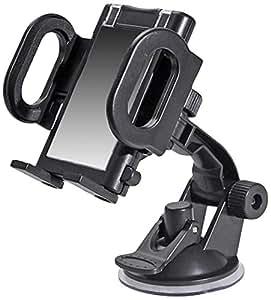 Pure 64000005 - Soporte de coche ajustable para smartphones, negro