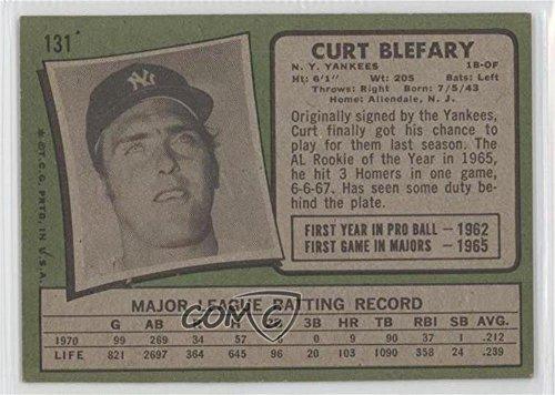Curt Blefary 1971 Topps - Base #131 Baseball Card