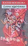 Lettres algériennes par Boudjedra