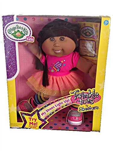 Cabbage Patch Kids Twinkle Toes, Hispanic Brown Hair Brown Eyes With Dental Braces