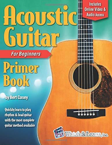 Acoustic Guitar Primer Book Beginners product image