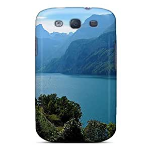 Dana Lindsey Mendez Perfect Tpu Case For Galaxy S3/ Anti-scratch Protector Case (mountain Lake)