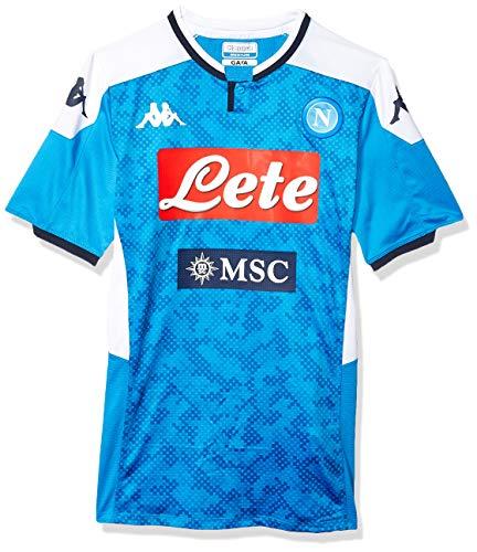 Ssc Napoli Italian Serie A Men's Home Match Shirt, SkyBlue, L (Napoli Soccer Shirt)