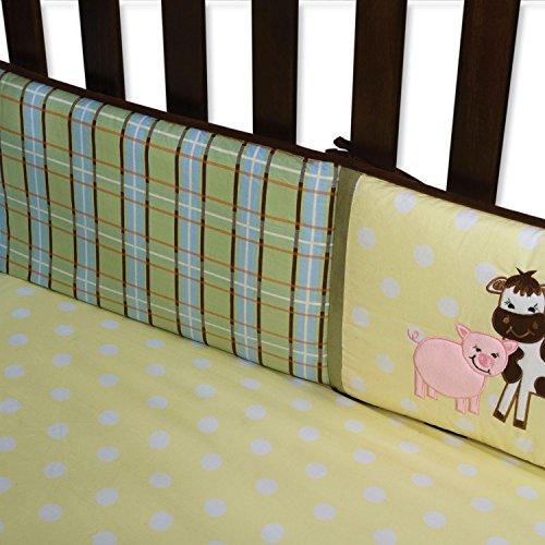 Crib Bumper - Baby Barnyard