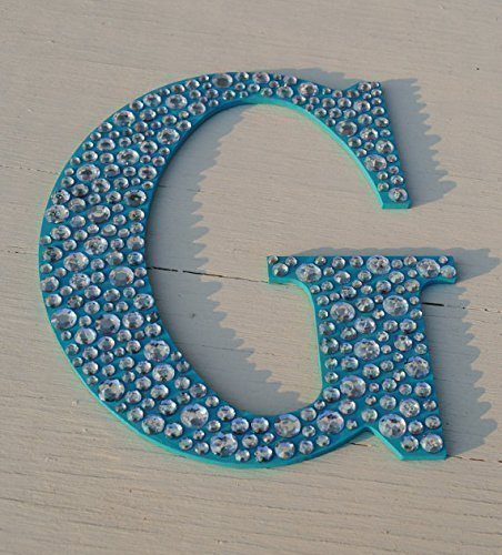 Beautiful Sparkle Turquoise Bling Decorative Wall Letters, Wedding Decor