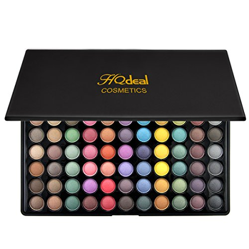 HQdeal 88 Color Eyeshadow Palettes Matte Shimmer Eyeshadow Palette Powder Halloween Makeup Party Makeup Cateye Makeup Smokey (Halloween Makeup With Eyeshadow)