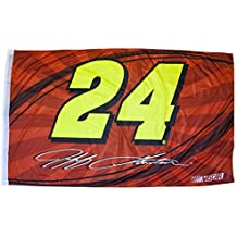 Jeff Gordon One-Sided Flag with Number 60 x 36in