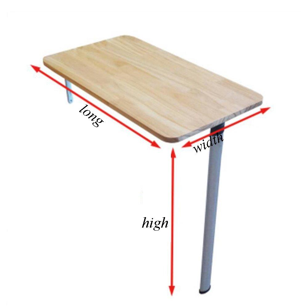 XIA 折り畳みテーブル コンピュータデスクソリッドウッド折りたたみテーブルスペースを取って壁掛けテーブルスタディテーブルウォールテーブルテーブルサイズオプション 折りたたみテーブル (色 : A, サイズ さいず : 74*35*74CM) B07CZ6NPRL 74*35*74CM|A A 74*35*74CM