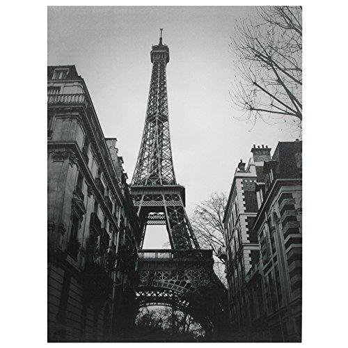 5129GTSIpQL - Oriental Furniture Eiffel Tower Sun Glow Canvas Wall Art