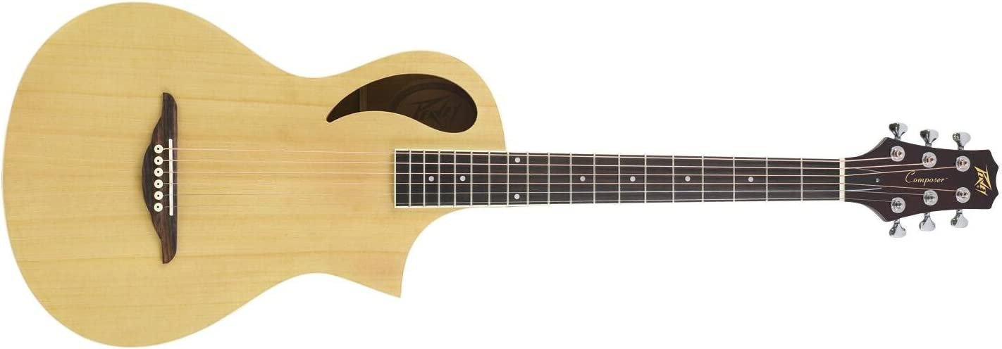 Peavey 03014170 Composer - Guitarra acústica (pequeña, con estuche ...