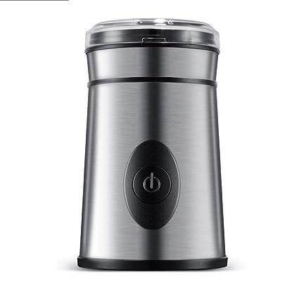 CY&Y Máquina de café, Amoladora, Molinillo de café eléctrico, Grano Entero, Medicina