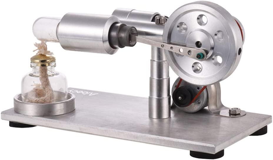 Aibecy Aibecy Motore Stirling Motore Modello Elettricit/à Generatore di Potenza con LED Fisica Giocattolo educativo Compleanno Scientifico Regalo