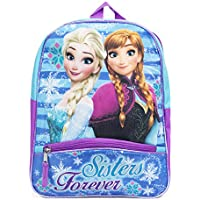 [Sponsored]Disney Frozen Elsa and Anna Purple 12 Inch Toddler Backpack School Bag