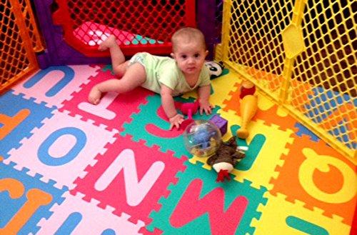 Soft Foam Alphabet Baby Puzzle Play Mat 26 Letter Set