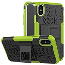iPhone6 Case, Awesome Armor Foldable Movie Stand Slim Cover, TAITOU New Ultra Hybrid 2 In 1 Thin Anti Scratch Drop Outdoor Sport Protect Phone Coque For Apple iPhone 6S Green